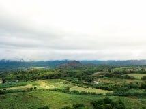 zangão disparado da natureza da paisagem em Tailândia Fotos de Stock