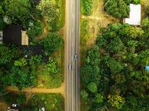zangão disparado da natureza da paisagem em Tailândia Fotografia de Stock