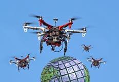 Zangões globais Imagem de Stock