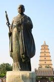 zang мастерской статуи xuan Стоковое Фото