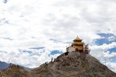Zangdhok Spalri Monastery Royalty Free Stock Images