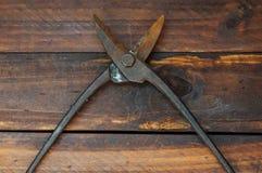 Zangen und Scheren für Metall lizenzfreie stockfotografie