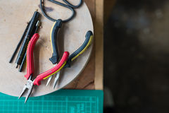 Zangenwerkzeuge Stockbilder