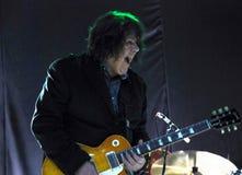Zanger en gitarist Gary Moore Royalty-vrije Stock Foto