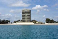 Zanger Island Skyline Stock Afbeelding
