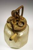 Zangola dell'oggetto d'antiquariato Fotografie Stock Libere da Diritti