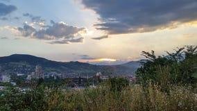 Zenica. Zanica city Bosnia and Herzegovina royalty free stock photo