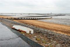 zaniechana łódź Obraz Royalty Free
