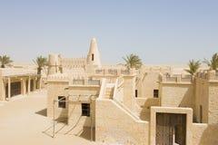 zaniechana arabska wioska Fotografia Royalty Free