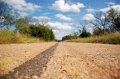 zaniechana autostrada Fotografia Royalty Free