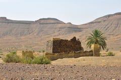 Zaniechana berber wioska w Maroko Obraz Stock