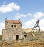 Zaniechana Blaszana kopalnia, Hiszpania Zdjęcia Royalty Free