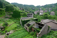 Zaniechana Chińska wioska Obrazy Royalty Free