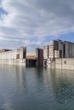 Zaniechana elektrownia jądrowa Zdjęcia Royalty Free