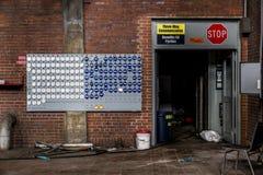 Zaniechana elektrownia - Ohio Zdjęcia Royalty Free