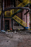 Zaniechana elektrownia - Ohio Fotografia Royalty Free