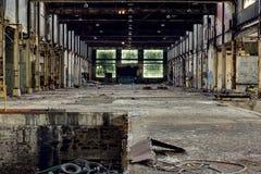 Zaniechana fabryka - bizon, Nowy Jork Zdjęcie Royalty Free