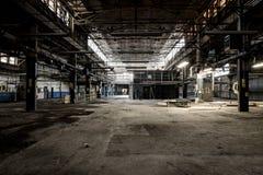 Zaniechana fabryka Cleveland, Ohio - prom nakrętka & śruby firma - zdjęcia stock