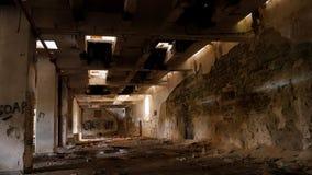 Zaniechana fabryka - młyn Zdjęcie Royalty Free