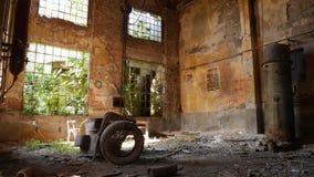 Zaniechana fabryka - młyn Obrazy Royalty Free