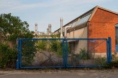 Zaniechana fabryka w Vordingborg Dani Fotografia Royalty Free