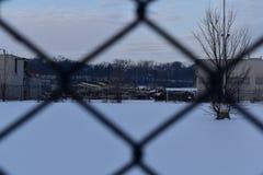Zaniechana GM roślina, Janesville, WI zdjęcie stock