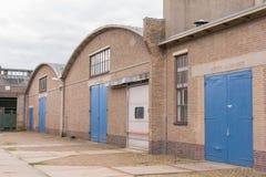 Zaniechana Holenderska fabryka obraz stock