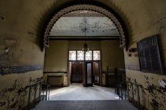Zaniechana i Historyczna Irem świątynia dla Shriners - Barre, Pennsylwania obraz royalty free