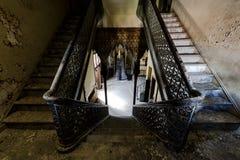 Zaniechana i Historyczna Irem świątynia dla Shriners - Barre, Pennsylwania zdjęcie stock