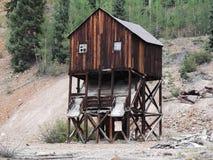 Zaniechana kopalnia w Kolorado zdjęcia stock