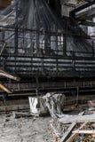 Zaniechana Koronkowa fabryka - Scranton, Pennsylwania zdjęcie royalty free