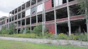 Zaniechana Packard roślina w Detroit zbiory