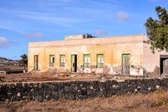 Zaniechana pustynia domu powierzchowność Obraz Royalty Free
