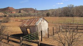 Zaniechana rancho jata Obraz Stock
