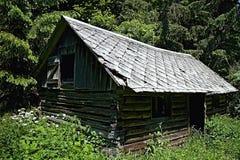 Zaniechana rozdrabnianie buda w dolinie Cutkovska dolina fotografia royalty free