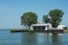 Zaniechana straży przybrzeżnej stacja Obraz Royalty Free
