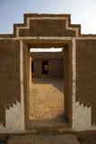 Zaniechana wioska Kuldhara w Rajasthan, India Obraz Stock