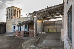 Zaniechana wioska w RAKU, UAE Obrazy Stock