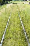 Zaniechane linie kolejowe Obraz Stock