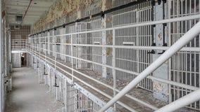 Zaniechanego Więźniarskiego pasma gnicia Miastowy Badać obraz stock