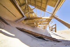 Zaniechani domy w Kolmanskop, Namibia Obrazy Stock
