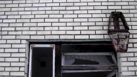 Zaniechani domy w zamkniętych promieniotwórczych terytorium 1 zbiory wideo