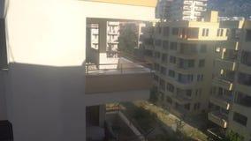 Zaniechani hotele w Turcja, łamający Windows, starzy budynki zbiory wideo