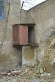 Zaniechani miejsca lub ruiny obraz stock