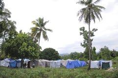 zaniechani namioty Fotografia Stock