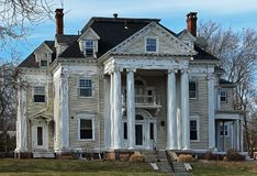 Zaniechany ale piękny dom w Taunton wciąż zdjęcie royalty free
