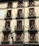 zaniechany budynek Fotografia Royalty Free