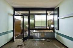 Zaniechany budynek Obrazy Royalty Free