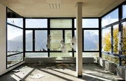 Zaniechany budynek Zdjęcia Stock