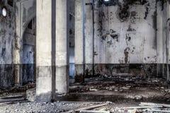 Zaniechany budynek Zdjęcie Stock